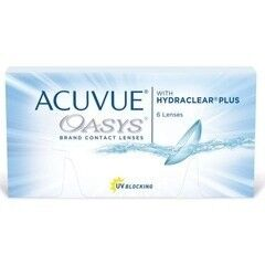 Линзы Johnson & Johnson Контактные линзы Acuvue Oasys With Hydraclear Plus
