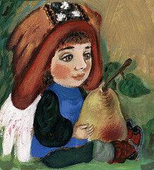 Подарок Славутасць Картина «Ангел с грушей»  tar02
