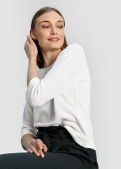 Кофта, блузка, футболка женская O'stin Джемпер с люрексом LT1W41-02