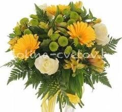 Магазин цветов Долина цветов Букет «Солнечный день»