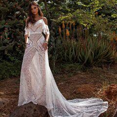 Свадебный салон Rara Avis Свадебное платье Wild Soul Batist