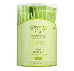 Уход за лицом Missha Очищающая пудра-порошок с экстрактом зеленого чая Green Tea Powder Wash With Baking Powder