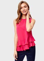 Кофта, блузка, футболка женская O'stin Блузка с вoланами LS1S83-X5