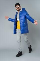 Верхняя одежда мужская Etelier Куртка мужская плащевая утепленная 4М-9469-1