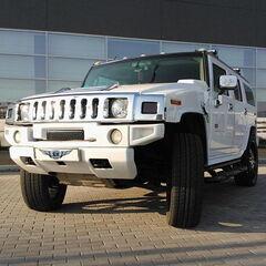 Прокат авто Прокат авто с водителем, Hummer H2 белого цвета