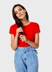 Кофта, блузка, футболка женская O'stin Базовая футболка из хлопка женская LT6U81-16