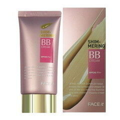 Декоративная косметика The Face Shop Увлажняющий ВВ-крем со сверкающими частицами Face It Shimmering BB Cream SPF20/PA+