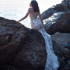 Свадебное платье напрокат Ange Etoiles Свадебное платье Ali Damore Rihanna