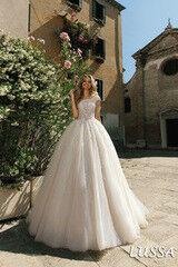 Свадебный салон Bonjour Свадебное платье Lussa из коллекции La Douceur