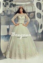 Свадебный салон Bonjour Свадебное платье «Queen» из коллекции LAMBRE 2017