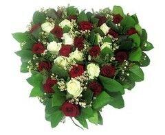 Магазин цветов Florita (Флорита) Сердце из роз