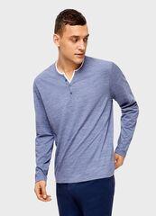 Кофта, рубашка, футболка мужская O'stin Футболка с вырезом «хенли» MT4U11-62