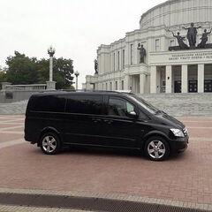 Прокат авто Аренда микроавтобуса Mercedes-Benz Viano Black