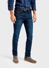 Брюки мужские O'stin Тёмнo-синие джинсы Slim fit MP1T72-D3