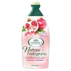Уход за телом L'Angelica Гель для ванны и душа с нектаром граната Officinalis 500 ml