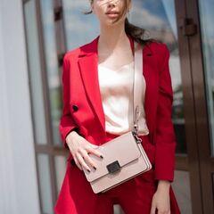 Магазин сумок Vezze Кожаная женская сумка C00495