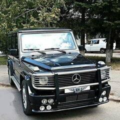 Прокат авто Прокат авто с водителем, Mercedes-Benz Gelandewagen Black