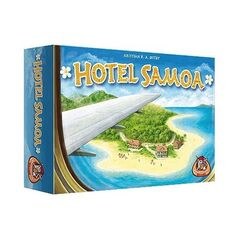 Магазин настольных игр White Goblin Games Настольная игра «Hotel Samoa» («Отель Самоа»)
