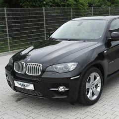 Прокат авто Прокат авто с водителем, BMW X6 черного цвета