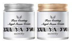 Уход за лицом Secret Key Крем для лица паровой с арганой Face Coating Angel Steam Cream
