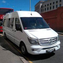 Прокат авто Аренда микроавтобуса Mercedes-Benz Sprinter White VIP-9