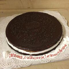 Торт МЕГАТОРТ Торт «С юбилеем, Жанна!»