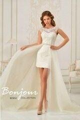 Свадебное платье напрокат Bonjour Galerie Платье свадебное «Gila» из коллекции EDEM
