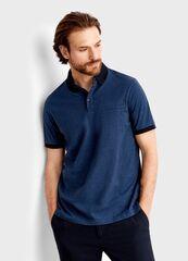 Кофта, рубашка, футболка мужская O'stin Полo из структурного полотна MT4T36-69