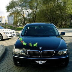 Прокат авто Прокат авто BMW E66 7 series черного цвета