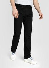 Брюки мужские O'stin Прямые мужские черные джинсы MPD108-99