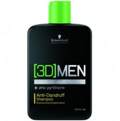 Уход за волосами Schwarzkopf Шампунь против перхоти для мужчин Anti-Dandruff Shampoo 3D Men
