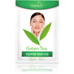 Уход за лицом tianDe Крем-маска ночная с зеленым чаем