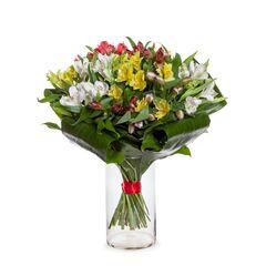 Магазин цветов Долина цветов Букет «Свежие цветы маме»
