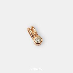 Ювелирный салон Белорусские Бриллианты Подвеска из золота со вставкой бриллиант синт. 41010007
