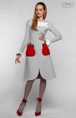 Платье женское Pintel™ Приталенное платье с длинным рукавом Aleyna