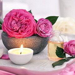 Магазин подарочных сертификатов Марсель Подарочный сертификат «Чайная роза» на расслабляющий ритуал-массаж с маслом из лепестков роз