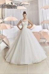 Свадебное платье напрокат А-силуэт Galerie d'Art Платье свадебное «Zlatovlaska» из коллекции BESTSELLERS