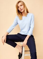 Кофта, блузка, футболка женская O'stin Базовый джемпер LK6T31-61