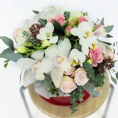 Магазин цветов Долина цветов Цветочная композиция «Для любимых»