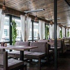 Ресторан и кафе на Новый год Terra Рizza Летняя терраса с обогревом