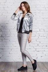 Верхняя одежда женская Nova Line Куртка-бомбер 1805