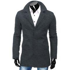 Верхняя одежда мужская Revolt Пальто Leo (Серое)