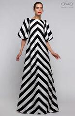 Платье женское Pintel™ Контрастное оп-арт платье свободного силуэта в пол VALTERINA