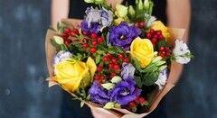 Магазин цветов Cvetok.by Букет «Яркий день»