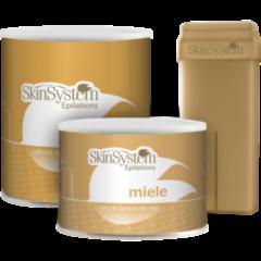 Уход за телом SkinSystem Воск для депиляции «Медовый» Wax Ester Yellow Honey, 800 мл