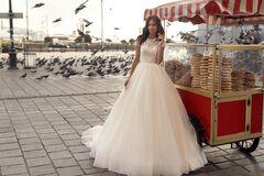 """Свадебное платье напрокат А-силуэт ALIZA свадебное платье """"Yarel"""""""