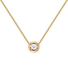 Ювелирный салон Sokolov Колье из золота с бриллиантом 1070031