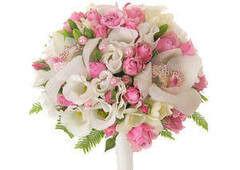 Магазин цветов Долина цветов Свадебный букет №1