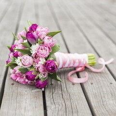 Магазин цветов Lia Свадебный букет №36