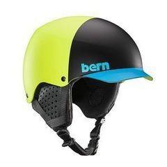 Сноубординг Bern Шлем Baker EPS Matte Neon Yllw Hatstyle